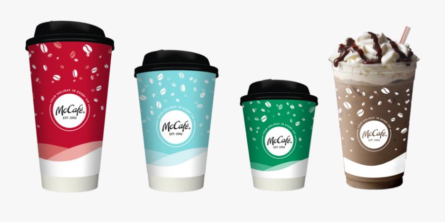 Transparent Styrofoam Cup Png - Mcdonald's Holiday Cups ...