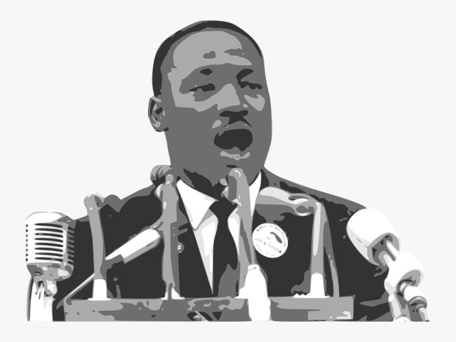 Martin Luther King Jr Png Martin Luther King Speech Cartoon Free Transparent Clipart Clipartkey