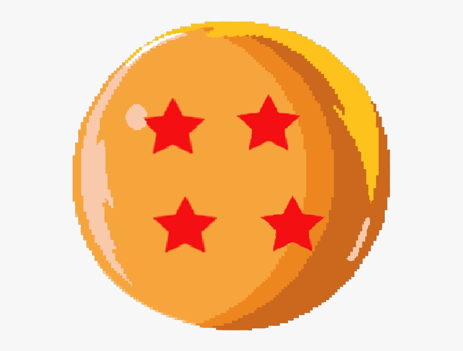 Dragon Ball Clipart Sprite Star Pattern Transparent - Dragon Ball Clip Art, Transparent Clipart