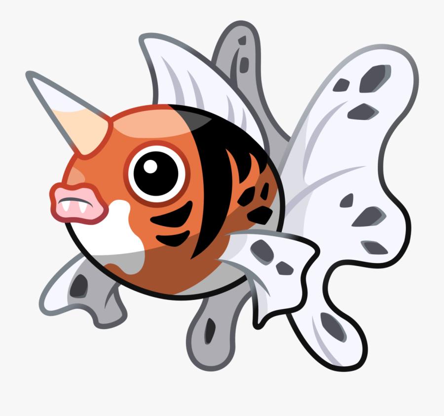 Pokémon Sprite Vector - Pokemon Gen 1 Fish, Transparent Clipart