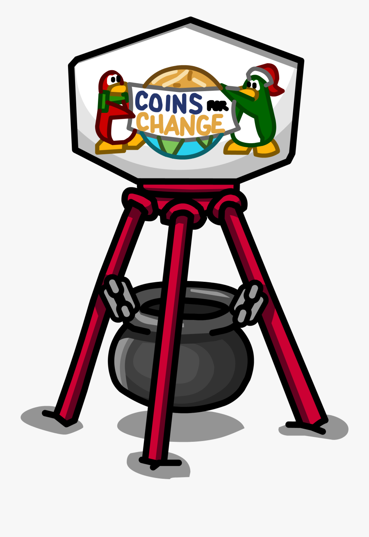 Coins Clipart Sprite - Coins For Change Club Penguin, Transparent Clipart