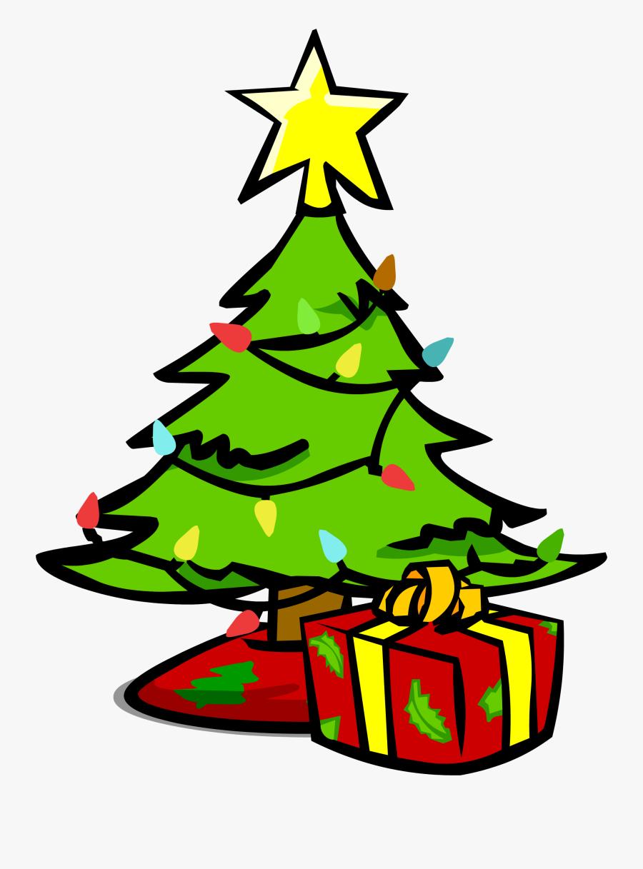 Small Christmas Tree Sprite - Christmas Tree Sprite, Transparent Clipart