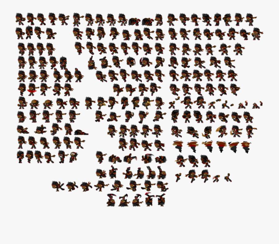 Pixel Sprite Sheet Clipart Sprite Pixel Art - Pixel Sprite Sheet Free, Transparent Clipart
