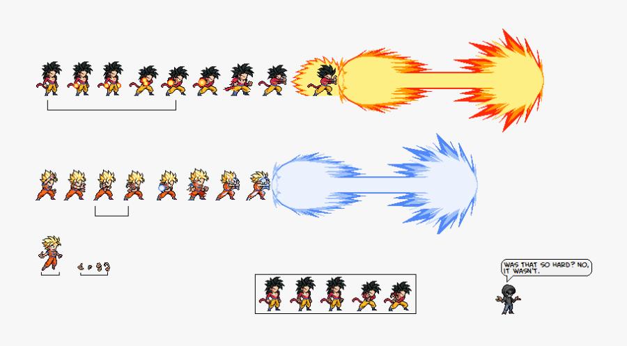 Dragon Ball Clipart Sprite - Sprites Sheets Dragon Ball, Transparent Clipart
