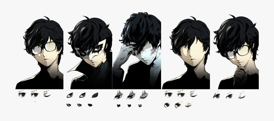 Clip Art The Spriters Resource Full - Persona 5 Joker Sprite, Transparent Clipart