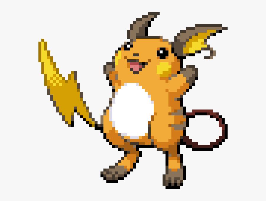 Pikachu Raichu Sprite Image Gif - Raichu Sprite, Transparent Clipart