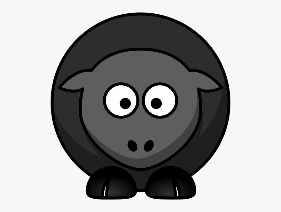 Black Sheep Cliparts - Cartoon Sheep Clipart Brown Sheep, Transparent Clipart