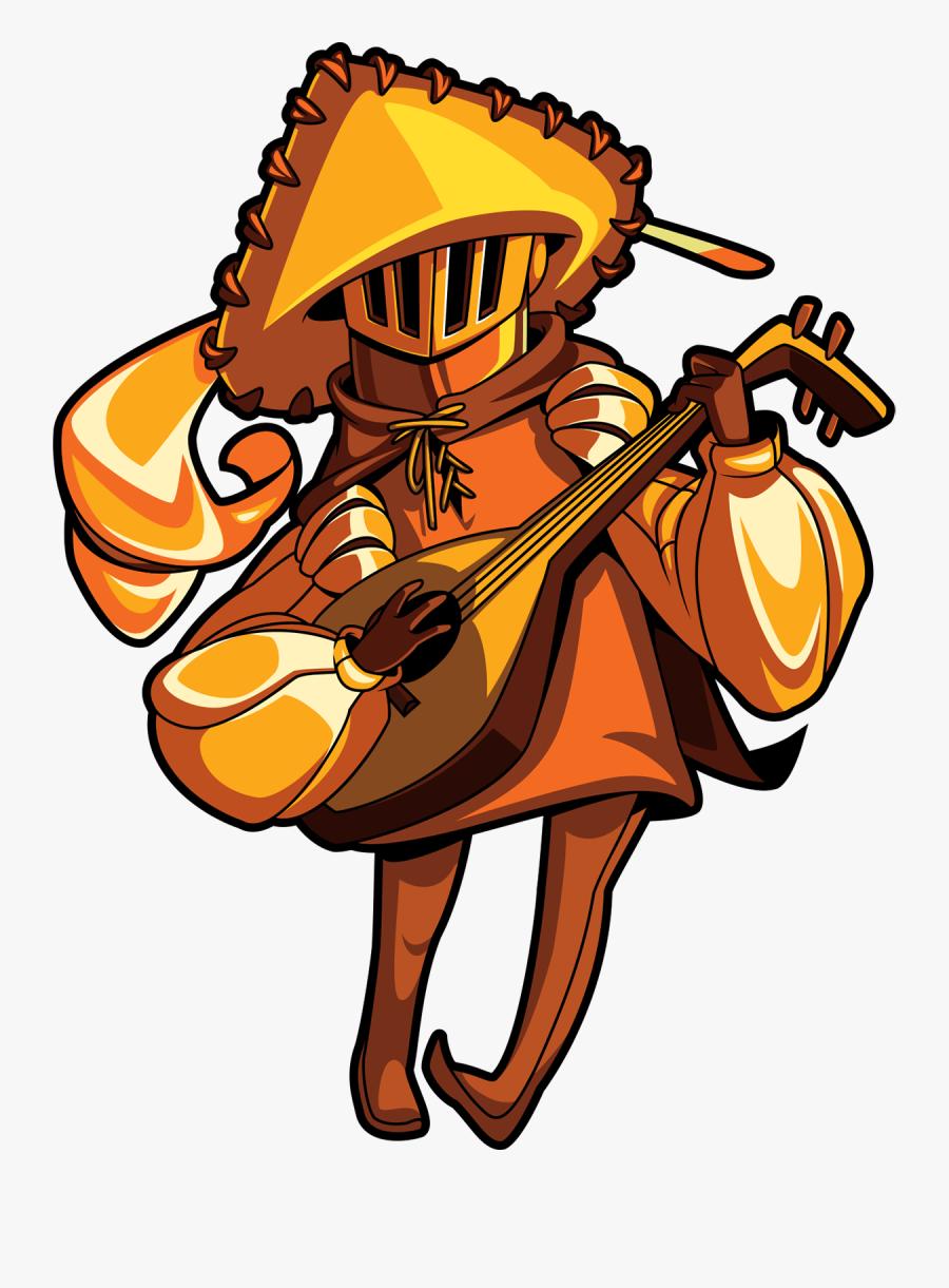 Shovel Knight Wiki - Shovel Knight Music Knight, Transparent Clipart