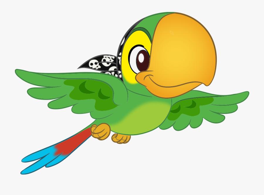 Jake And The Neverland Pirates Bird, Transparent Clipart