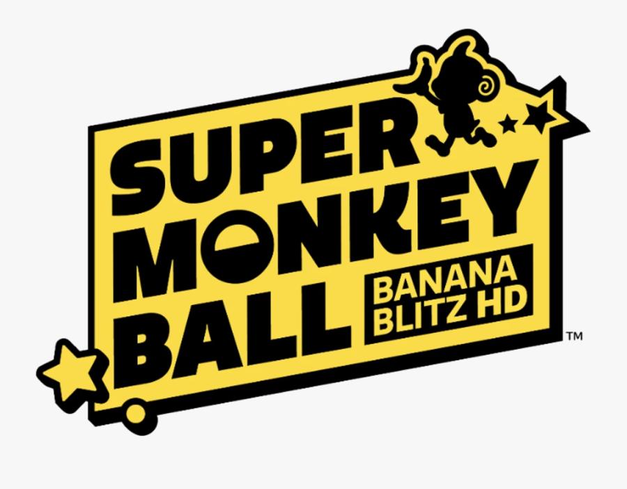 Super Monkey Ball Banana Blitz Hd Logo, Transparent Clipart