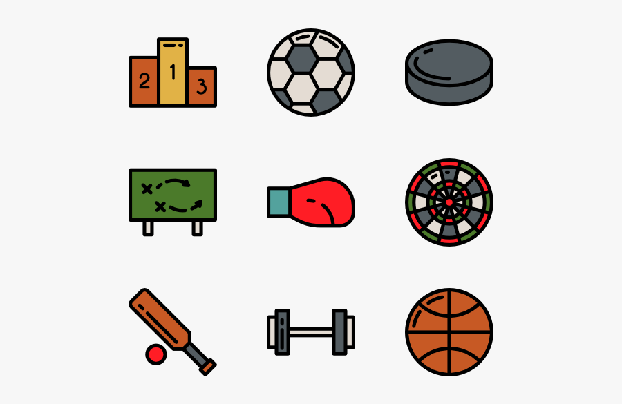 Athlete Icon Packs - Transparent Sports Icon Png, Transparent Clipart