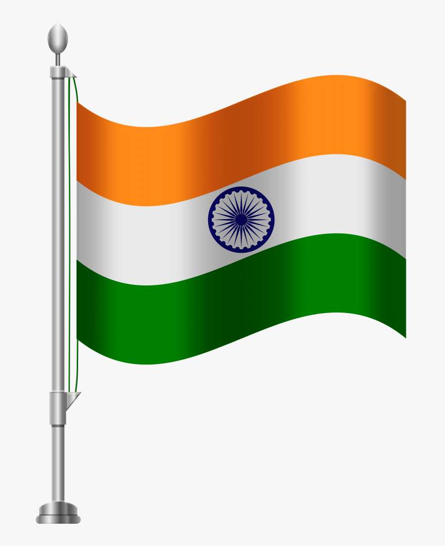 Flags Clipart Easy - Indian National Flag Png, Transparent Clipart