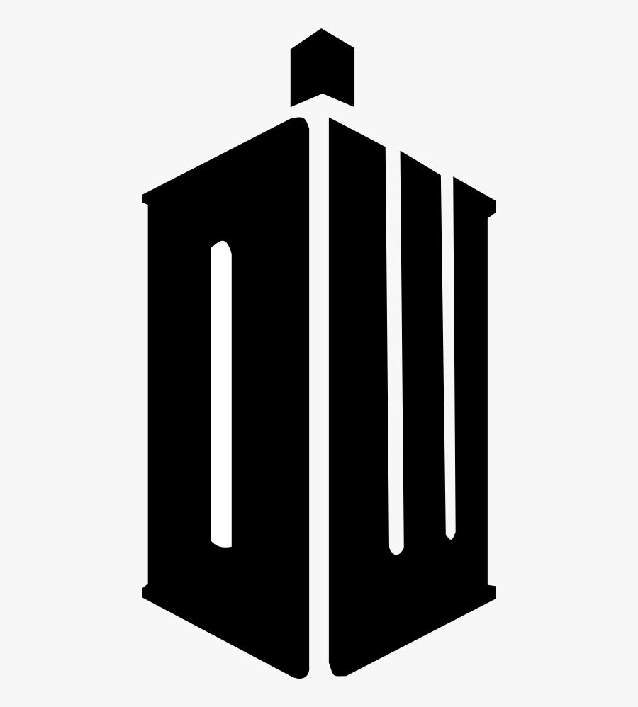 Dw Logo, Dw Logo - Doctor Who Transparent Logo, Transparent Clipart