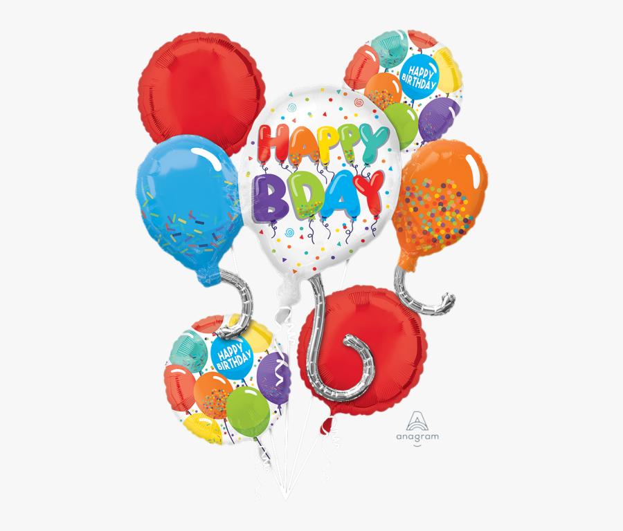 Happy Birthday April 6 2020, Transparent Clipart
