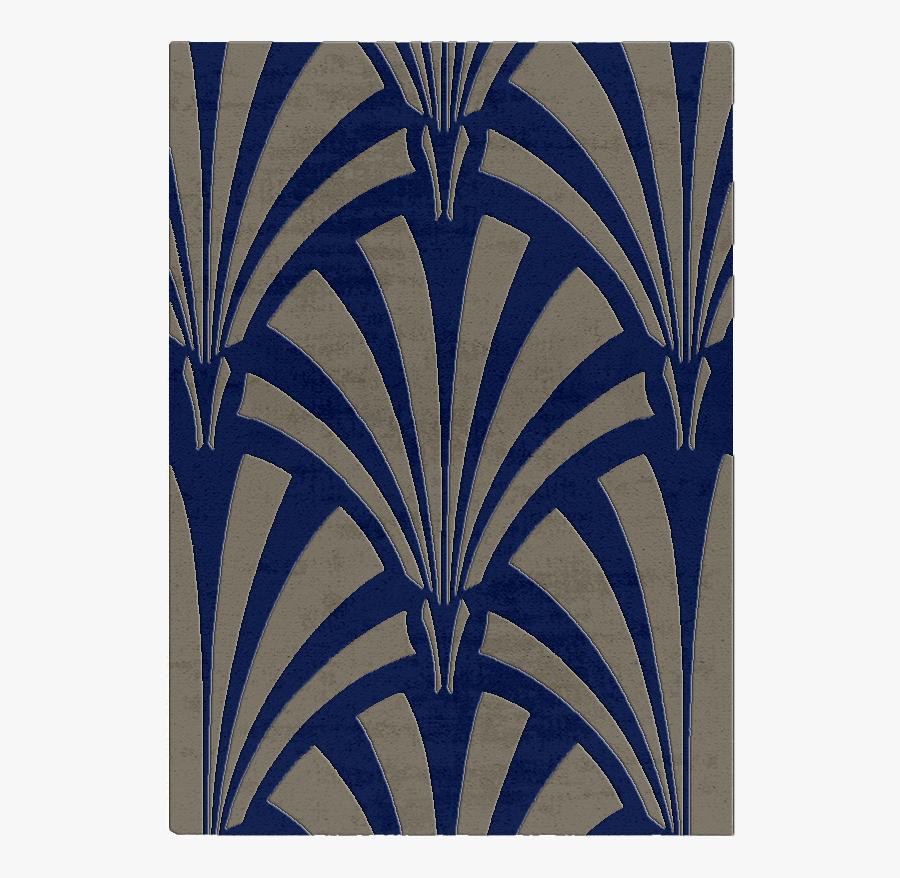 Clip Art Art Deco Fan Pattern - Simple Art Deco Pattern, Transparent Clipart