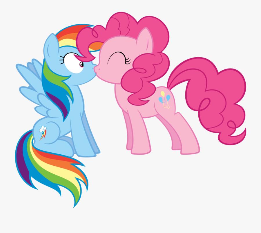 Absurd Res Artist Atmospark Lesbian Pinkiedash Clipart - Rainbow Dash And Pinkie Pie, Transparent Clipart