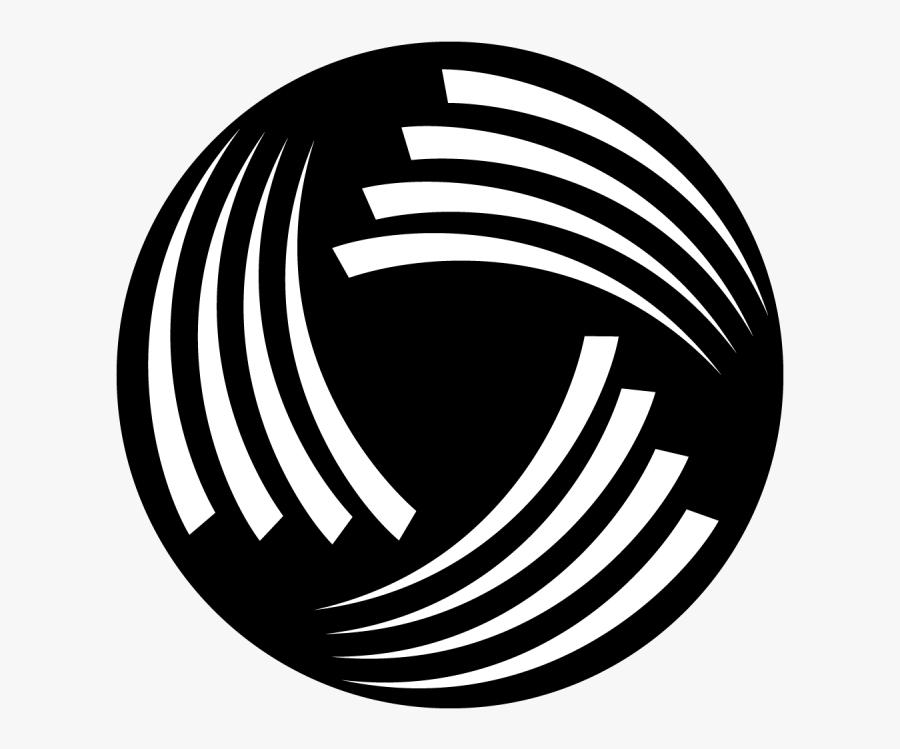Transparent Swirl Line Png - Circle, Transparent Clipart