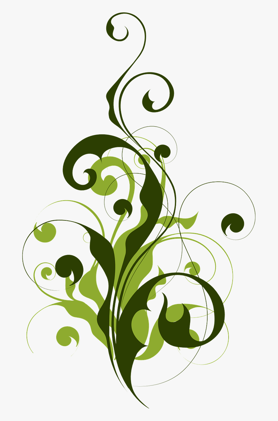 Flora Abstract Filigree Free Picture - Leaf Islamic Pattern, Transparent Clipart