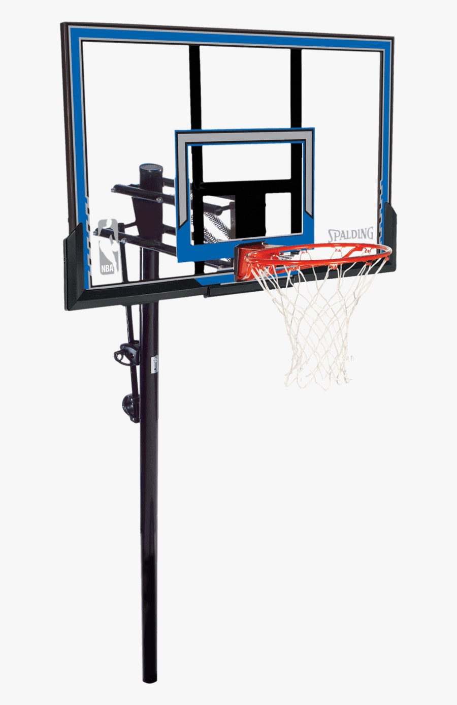 In Ground Basketball Hoop Clipart , Png Download - Aros De Basquetbol Spalding, Transparent Clipart