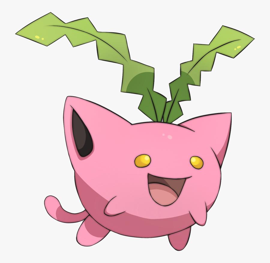 Shiny Hoppip Pok U00e9dex Stats Moves Evolution Locations - Hoppip Pokemon, Transparent Clipart