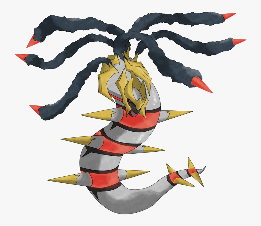 Art,fictional Character,animal Figure - Pokemon Go Giratina Origin, Transparent Clipart