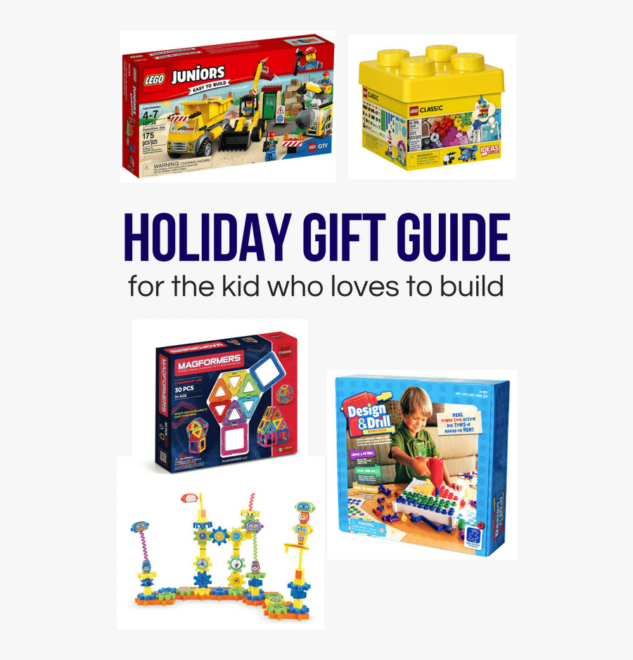 A Holiday Gift Guide For The Kid Who Loves To Build - Baby Toys, Transparent Clipart