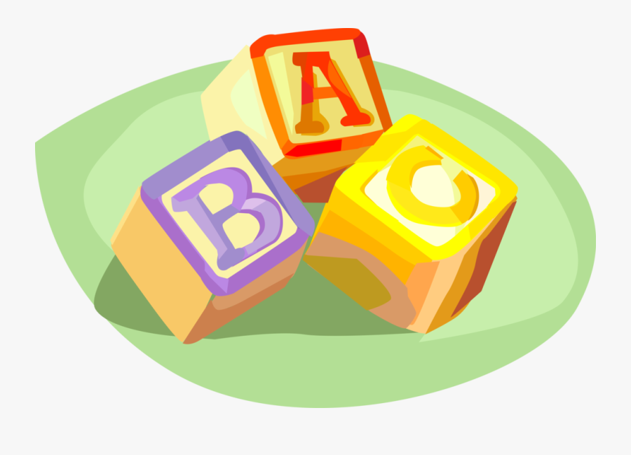 Block Vector Childrens - Png Kids Building Blocks, Transparent Clipart