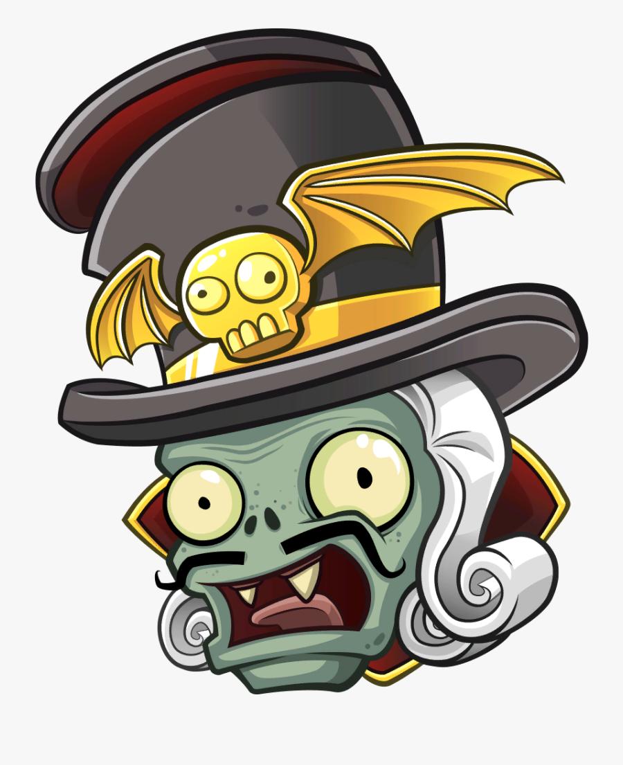 Zombies Wiki - Plants Vs Zombies Garden Warfare 2 Baron Von Bats, Transparent Clipart