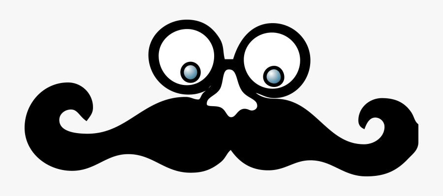 Mustache Clipart Eye - Googly Eyes And Mustache, Transparent Clipart