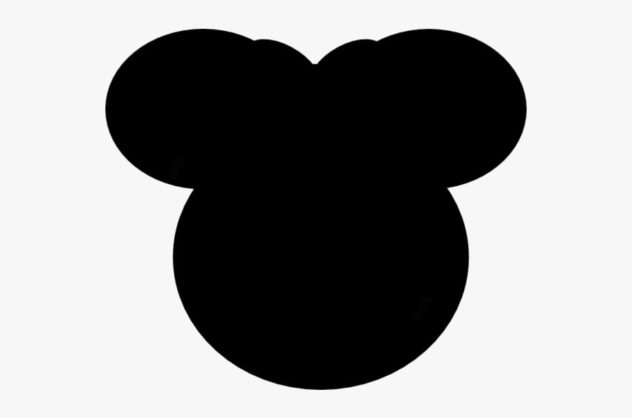 Transparent Mickey Mouse Ear Clipart, Mickey Mouse - Minnie Mouse Orange Bow, Transparent Clipart