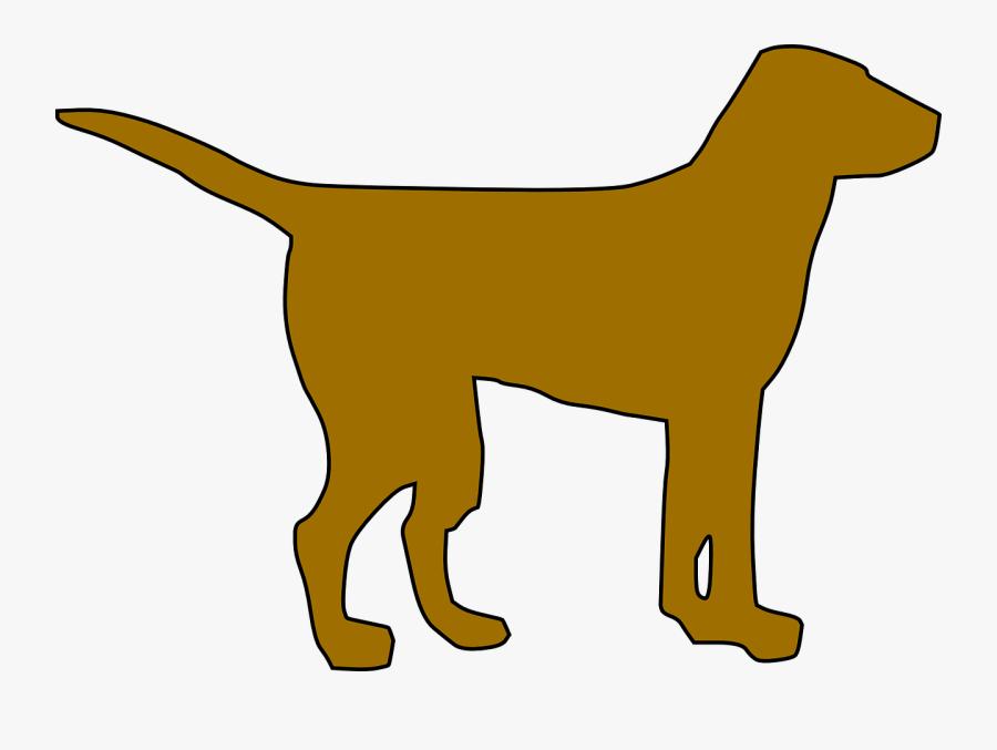 Dog, Silhouette, Pet, Standing, Friend, Animal, Mammal - Black Dog Clip Art, Transparent Clipart