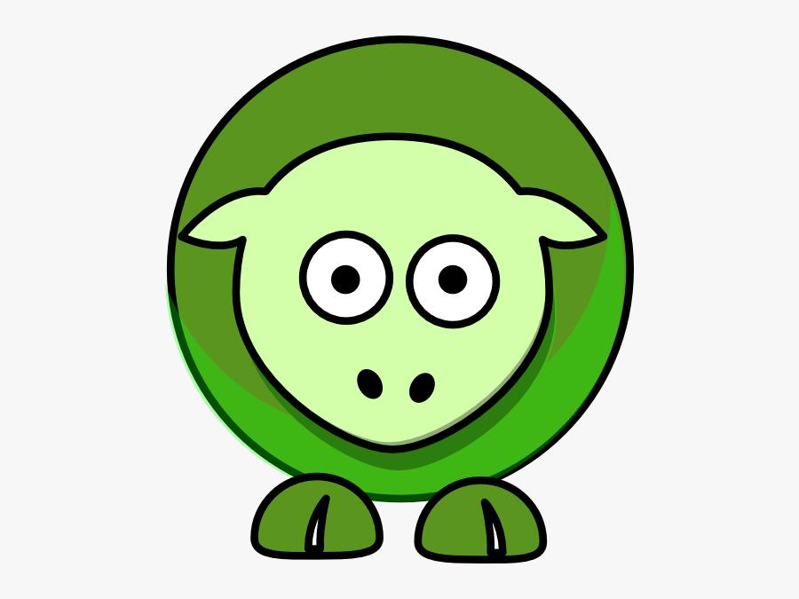 Sheep Cartoon Green 5a961eff Svg Clip Arts - Pacific Tigers, Transparent Clipart