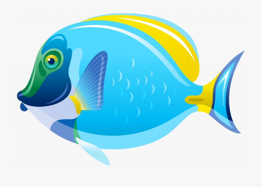 Fish Clip Art For - Transparent Background Fish Clipart, Transparent Clipart