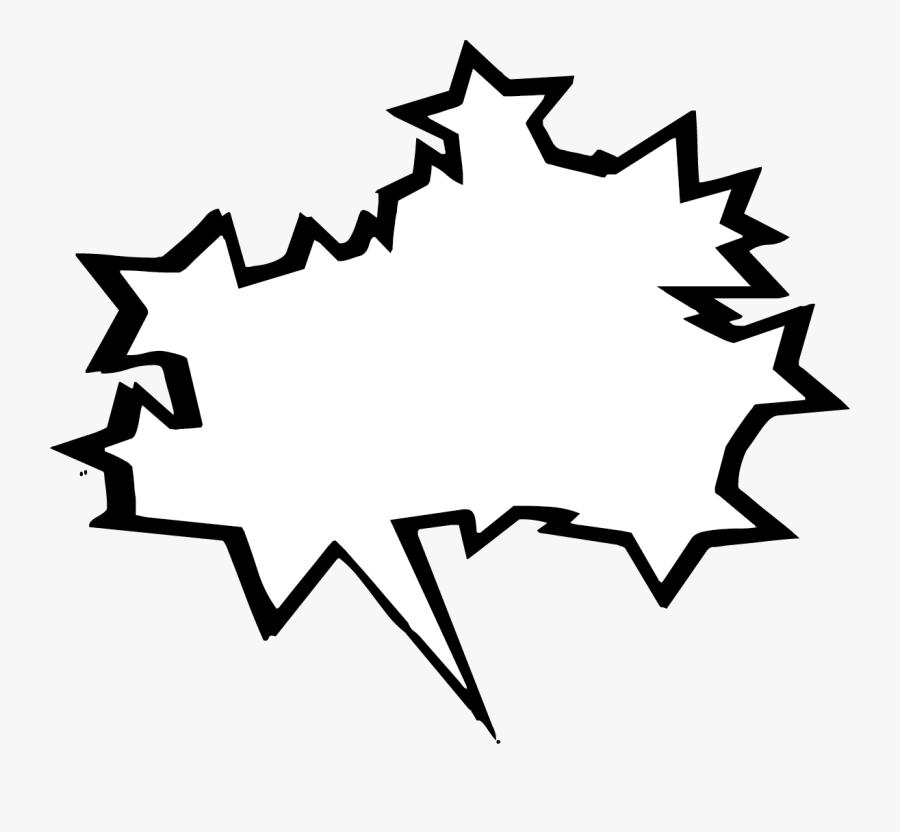 Http - //www - Buncee - Com/clip Art/speech - Bubbles/ - Comic Book Speech Bubble Png, Transparent Clipart