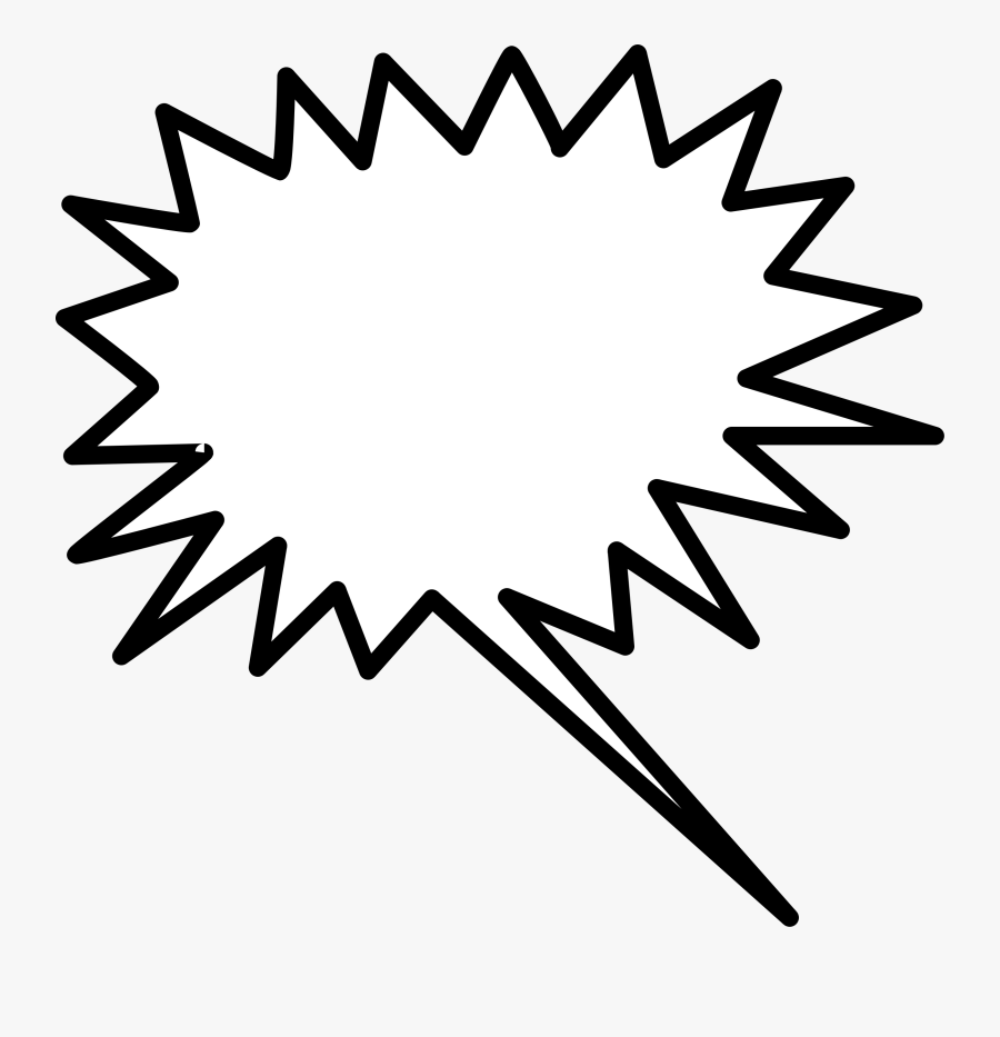 Pop Art Speech Bubble Png, Transparent Clipart