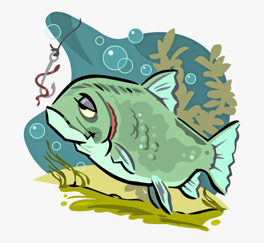 Northern Largemouth Bass,bass,fish - Tired Fish, Transparent Clipart