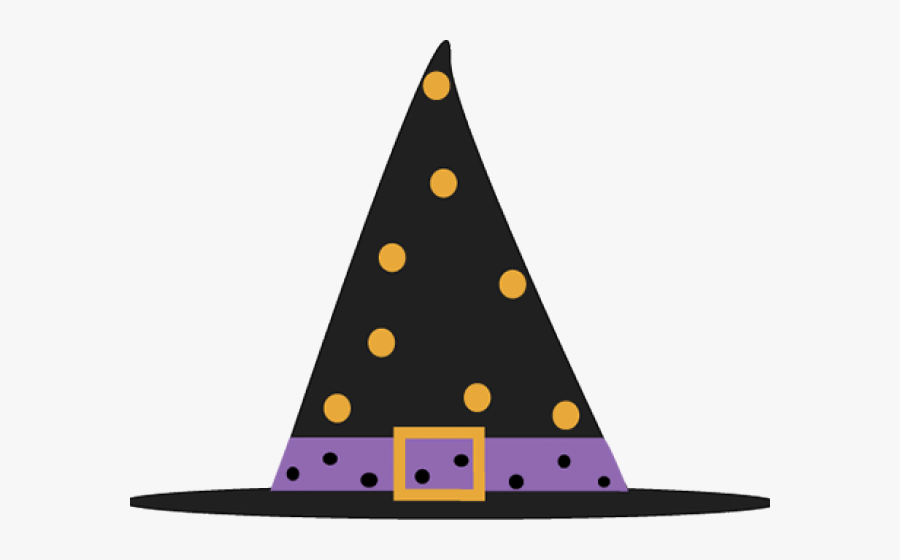 Transparent Witch Hat Clipart - Cute Halloween Witch Hat, Transparent Clipart