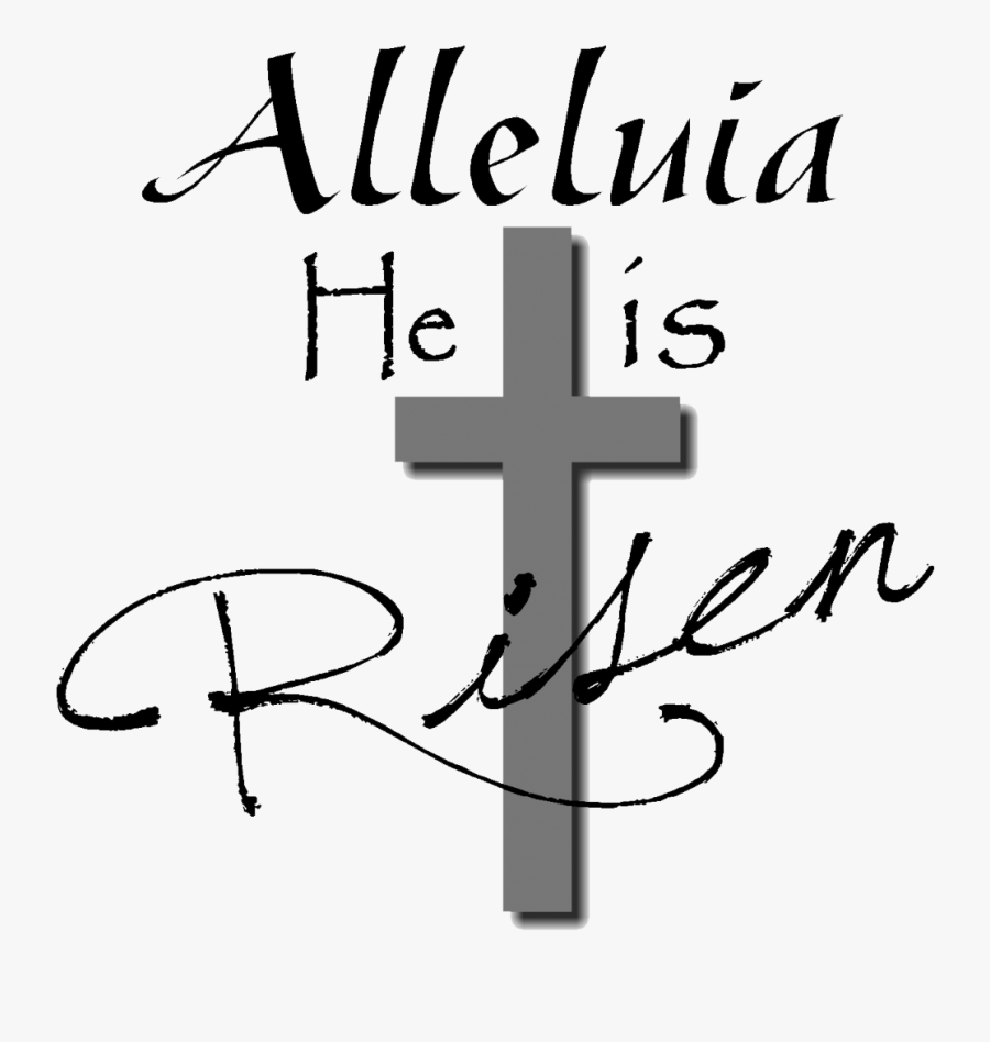 Easter Vigil Clipart - Christian Easter Black And White Clipart, Transparent Clipart