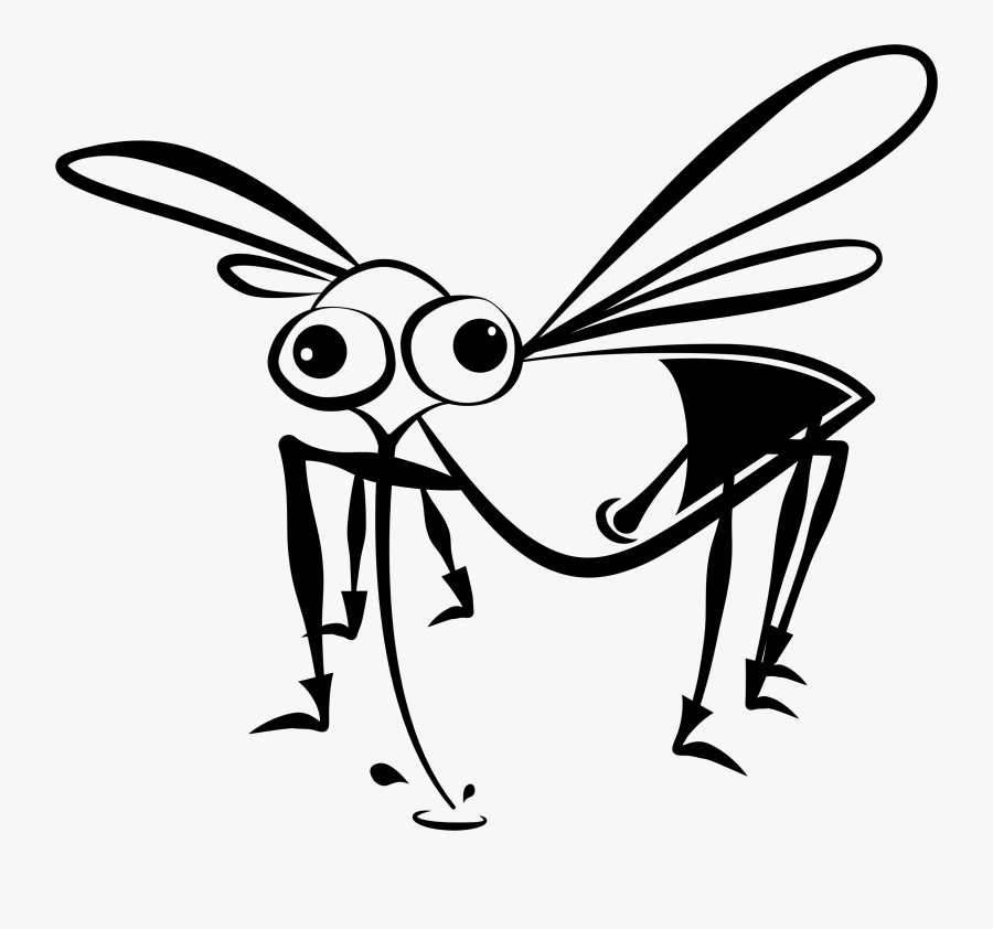 World Mosquito Day Drawing, Transparent Clipart