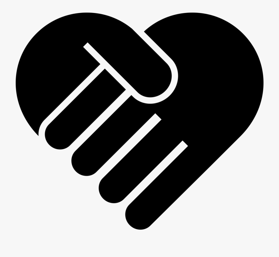 Helping Hand Heart Png , Free Unlimited Download - Helping Hand Clipart Png, Transparent Clipart