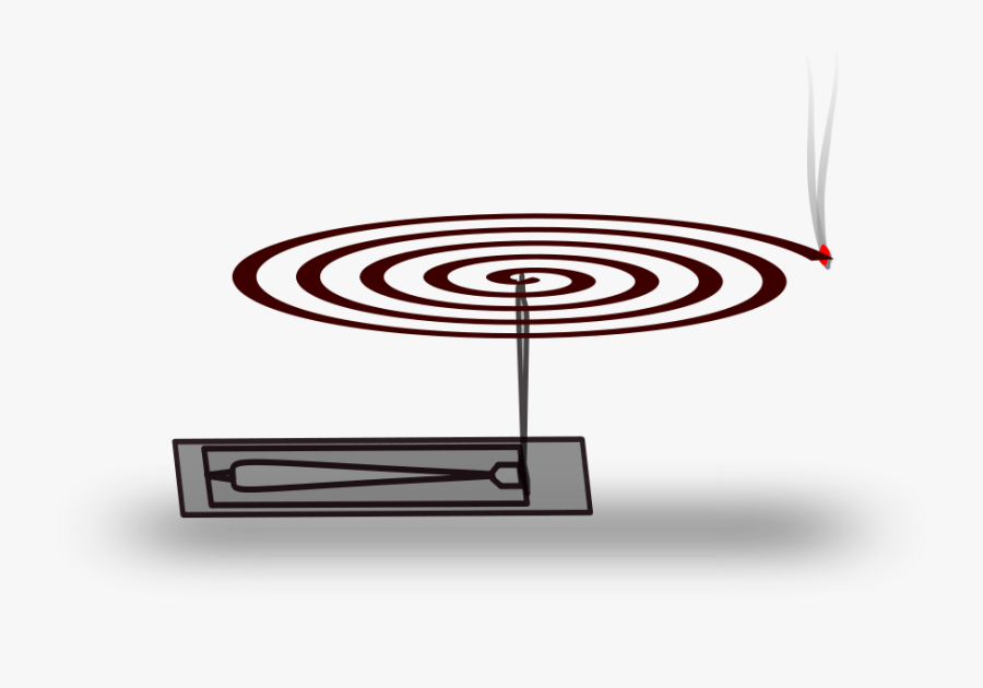 Freehand Mosquito Large 900pixel Clipart, Freehand - Mosquito Coil Vector Png, Transparent Clipart