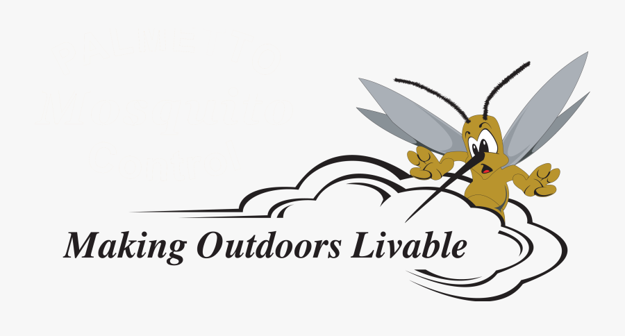 Mosquito Clipart , Png Download - Palmetto Mosquito Control Logo, Transparent Clipart