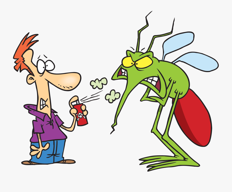 Mosquito Clipart Animated - Insect Repellent, Transparent Clipart