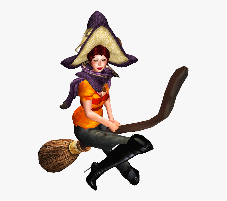 Clip Art The Witch S Broom - Sims 4 Witches, Transparent Clipart