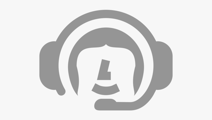 Audio,brand,headphones - Logo Help Center, Transparent Clipart