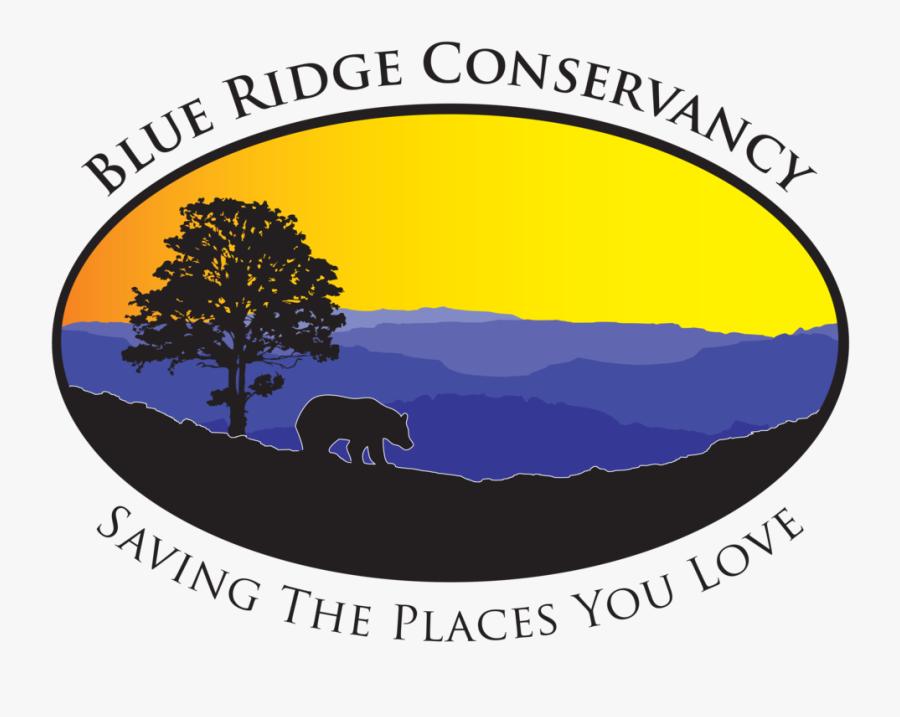 Clipart Mountains Waterfall - Blue Ridge Conservancy, Transparent Clipart