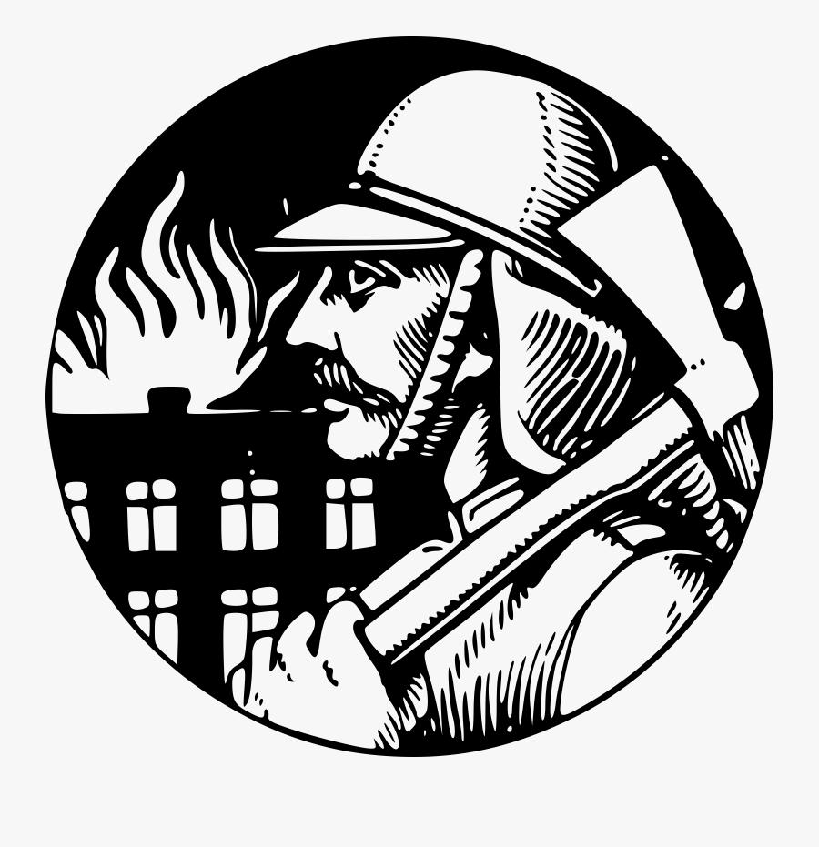 Transparent Firefighter Clipart Png - Gambar Keren Pemadam Kebakaran, Transparent Clipart