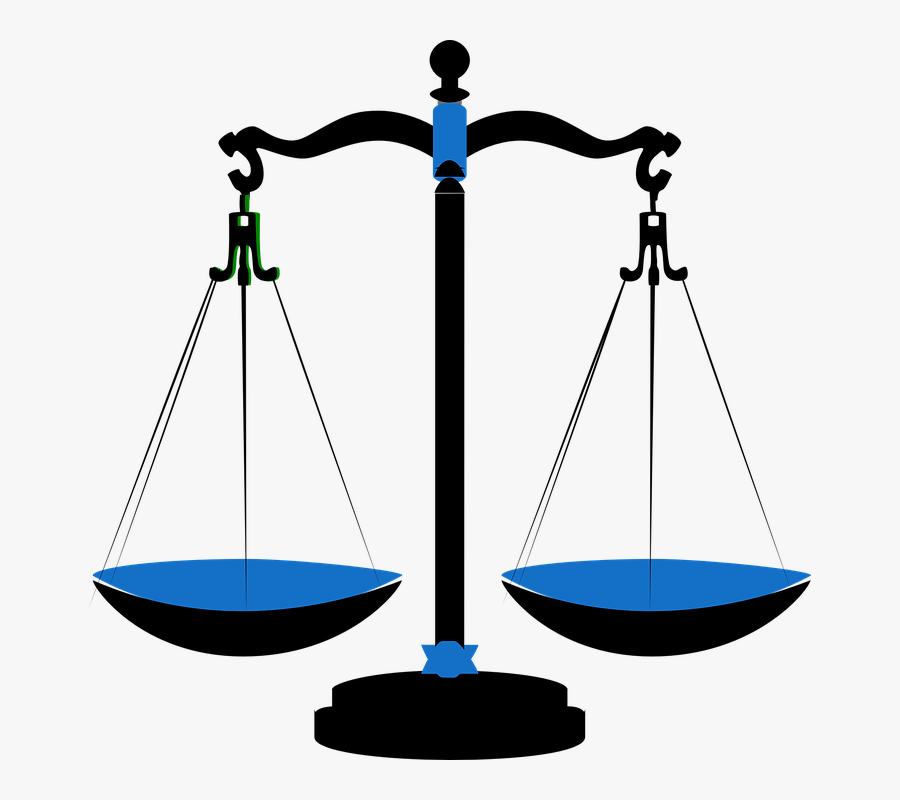 Scale Clipart Law And Order - Scales Of Justice, Transparent Clipart