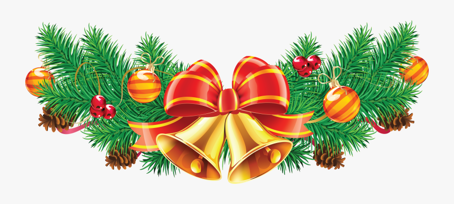 Christmas Png Image - Christmas Bell Hd Png, Transparent Clipart