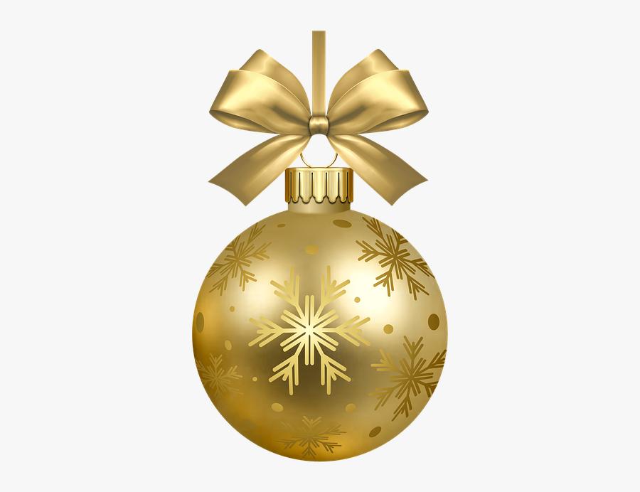 Christmas Tree Bulb Decorations, Transparent Clipart